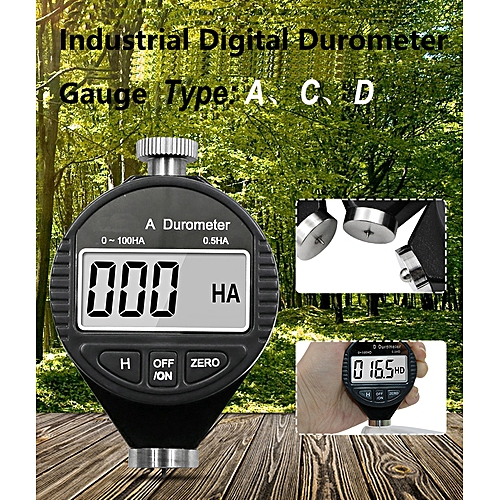 Durometer Duroscope Hardmeter Hardness Gauge 0-100HA