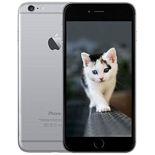 IPhone 6 4.7 Inch 1GB+32GB 8MP + 1.2MP Finger Sensor 4G LTE Smartphone (Gift)-Grey