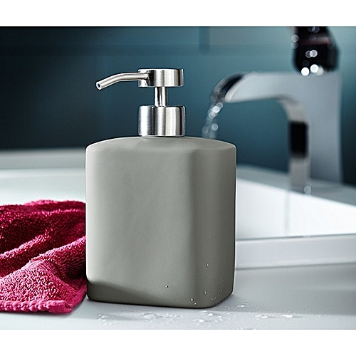 Soft-touch Soap Dispenser With Matt Stainless Steel Pump
