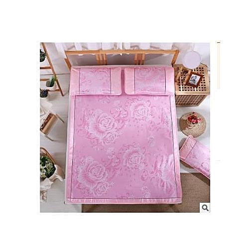 Ice Silk Cooling Summer Sleeping Mat Foldable Three Piece Mats 150*200cm