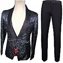 Fashion Men's Wedding Tuxedo Suit - Black for sale  Nigeria