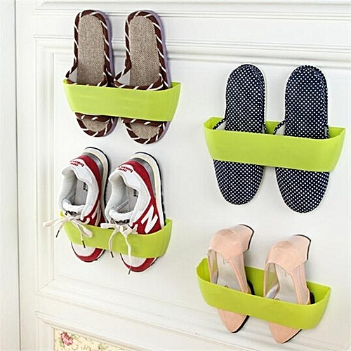 Creative Three-dimensional Wall-mounted Shoe Rack Simple Wall Stick-on Shoe Storage Rack 2.5 X 7.5 X 6cm