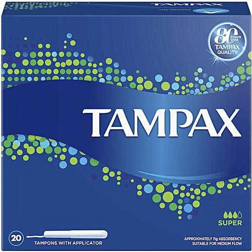 Tampax 20pcs X8