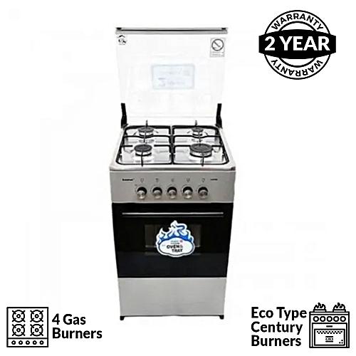 4-Burner Gas Cooker CK-5400 NG - Silver
