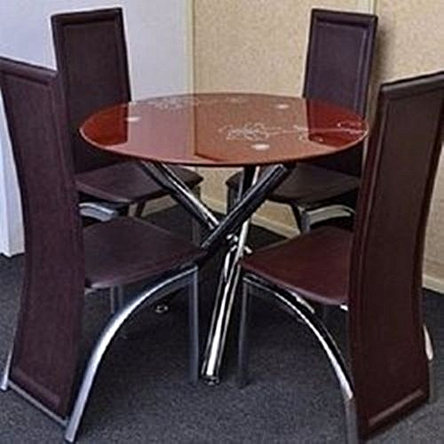 DINNING SET WITH ROUND TABLE