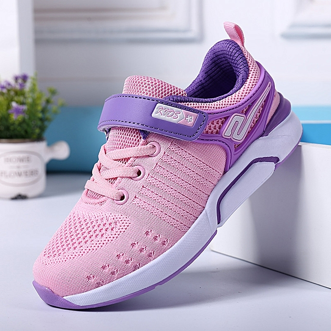 abeec633a32 Kids Running Shoes For Girls Breathable Sport Sneakers Spring Big Children  Shoe