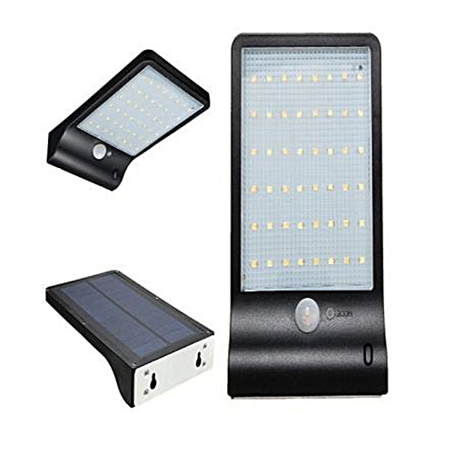 Solar Security Light And Motion Sensor All In One With Super Bright 48LED.