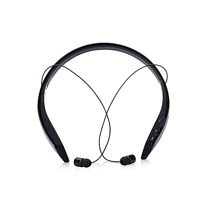 Generic Bluetooth 4.0 Ring Collar Music Bluetooth Headset Wirless Earphone With Incoming Call