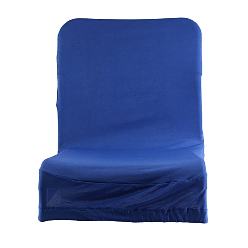 Home-Simple Household Thickening Computer Office Half Of The Elastic Chair Cover*Sapphire Blue