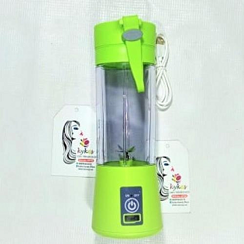 Rechargeable Smoothie Fruit Blender 4 Blades+Free USB