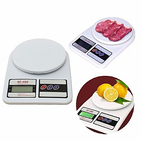 Electronic Kitchen Scale - LCD Display