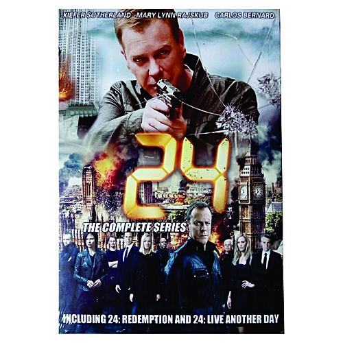 Fox 24: Complete Season 1-9 (9 DVDs)