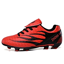 870cd010aa1  Ready Stock FG Cleats Children Soccer Shoes Outdoor Professional Football  Shoes Sneakers Male Football