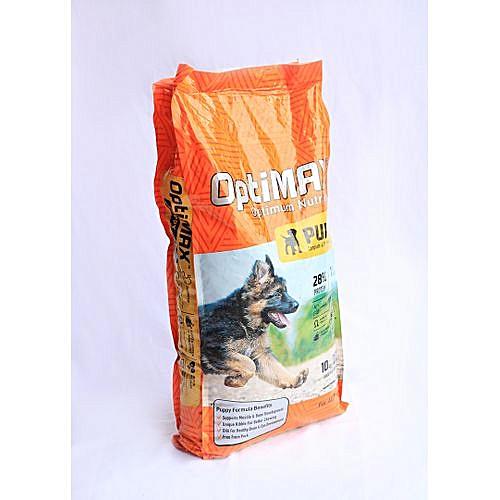 Optimax Puppy Dog Food 10KG