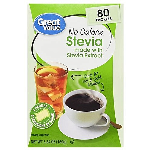 Stevia Sweetener, No Calorie - 80 Count