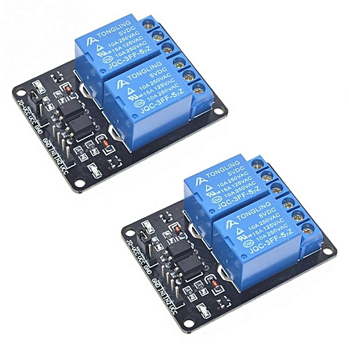2 Channel 5V Relay Module Low Level Trigger 5V 2Channel Relay Module For Arduino ARM PIC AVR DSP Electronic