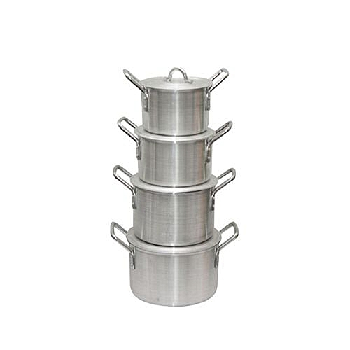 4 Piece Cooking Pot Set (Picasso)