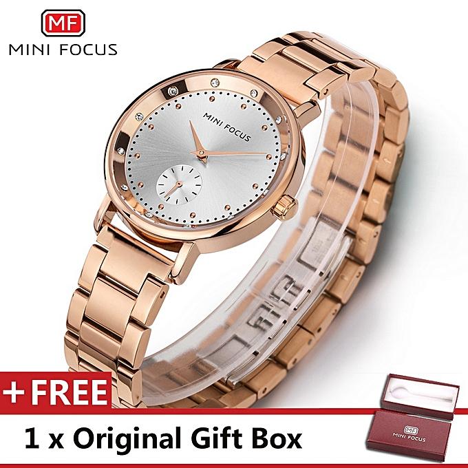 fe092c526da Top Luxury Brand Watch Famous Fashion Women Quartz Watches Wristwatch Gift  For Female Rose Gold