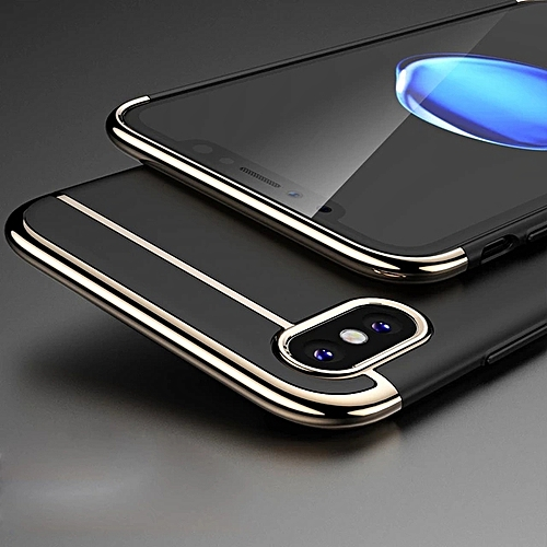 IPhone X Case , Luxury Matte Hard PC Protective Phone Case For IPhone X --- Black