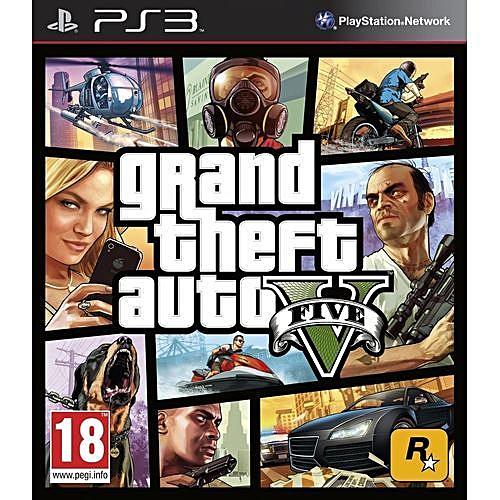 Grand Theft Auto V GTA 5 - [Ps3 ]