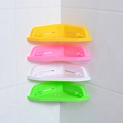 Bathroom Shelf Toothpaste Holder Shampoo Rack Cosmetic Hanger