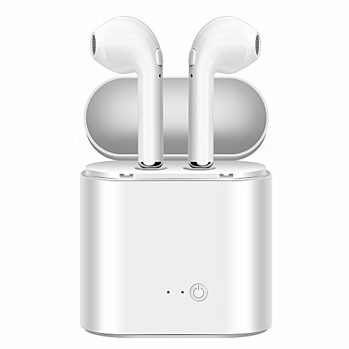 I7S TWS Mini Bluetooth Wireless Earbuds Earphone Headsets Double Earpiece Air Pods With Microphone For Earpods All Mobile For IPhone 6 Samsung Android Xiaomi Huawei DQ-M