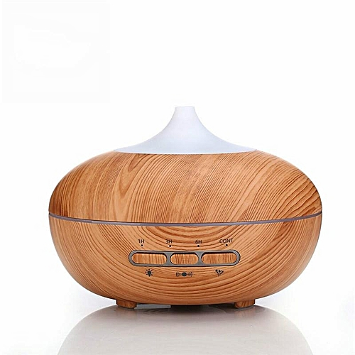 Intelligence Essential Oil Diffuser Wood Grain Ultrasonic Aroma Cool Mist Humidifier 300ml For Office Bedroom Baby Room
