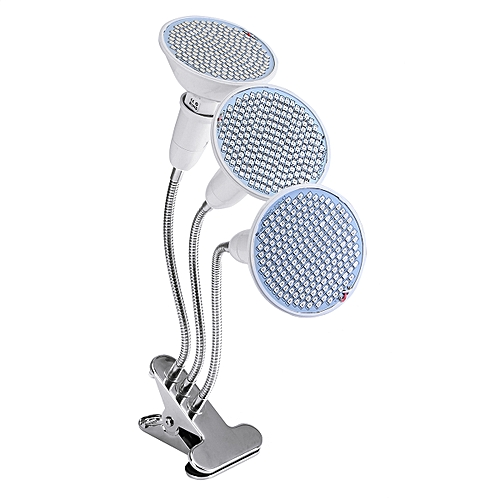 E27 LED Plant Growth Light Clip On Flower Three Heads Double Heads Lamp Holder
