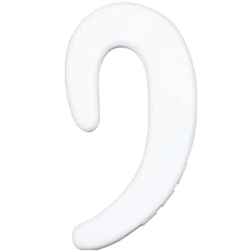 Bone Conduction Bluetooth Sports Headset Stereo Car Mini Ear-hook Wireless Earphone - Milk White