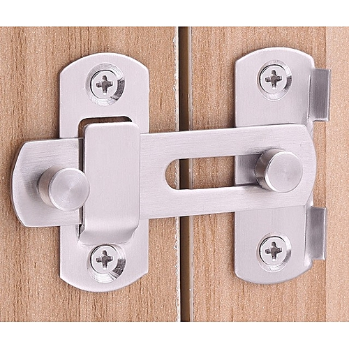 20x50x70mm Stainless Steel Home Safety Gate Door Bolt Latch Slide Lock Hardware