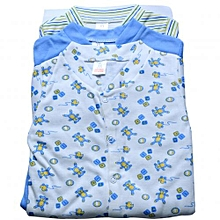 Excellent Condition 0-1 Months Blue Striped Supply Boys Mother Care Shorts