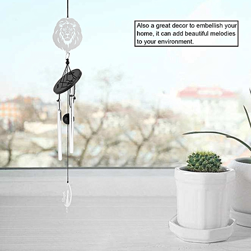 Home Decoration Hanging Wind Chimes Metal Tubes Handmade Crafts Ornament