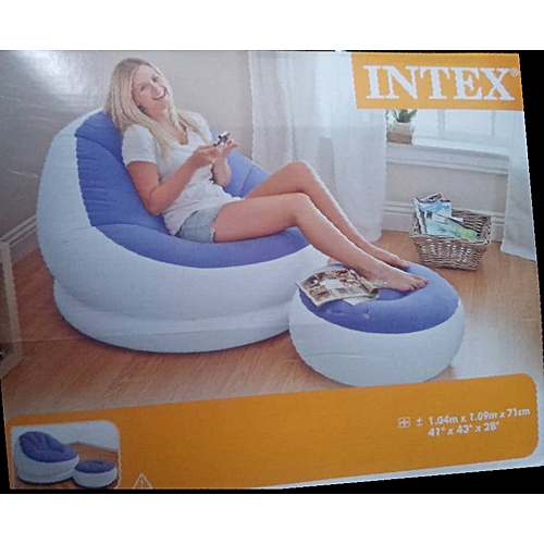 Chair & Foot Rest Inflatable