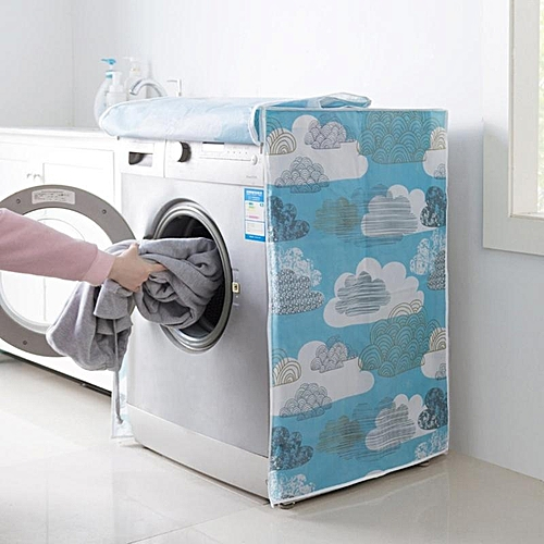 Top / Front Load Open Washing Machine Cover Ployster Anti-dust Waterproof Cover Cloth Washers Dustproof Wateproof Sun Screen