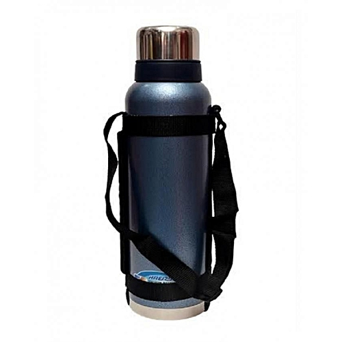 Hot Water Flask- Blue
