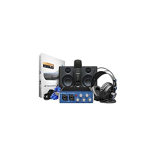 AudioBox Studio Ultimate Bundle Complete Hardware/Software Recording Kit With Studio Monitors.
