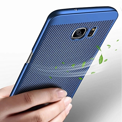 brand new be76e 9081d SAMSUNG S6 EDGE CASE,2018 New Design Heat Dissipation Case For Samsung  Galaxy S6 EDGE---BLUE