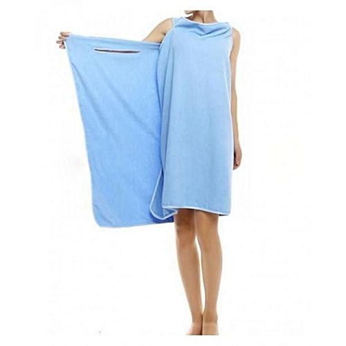 Wearable Bathrobe - Blue