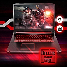 Nitro 5 Gaming 9th Gen Intel Core I5-9300H 8GB RAM(Ugradable To 32GB)3GB Nvidia GeForce 256GB SSD WINS 10