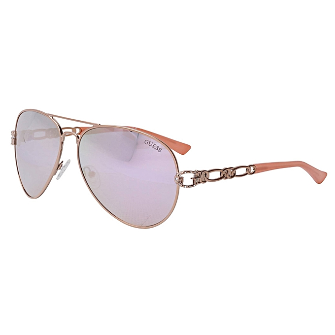 Guess Factory 6044 Women's Rose Gold Lens Sunglasses