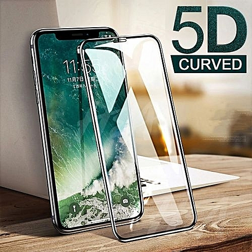 IPhone XS MAX Screen Guard 5D Tempered Glass