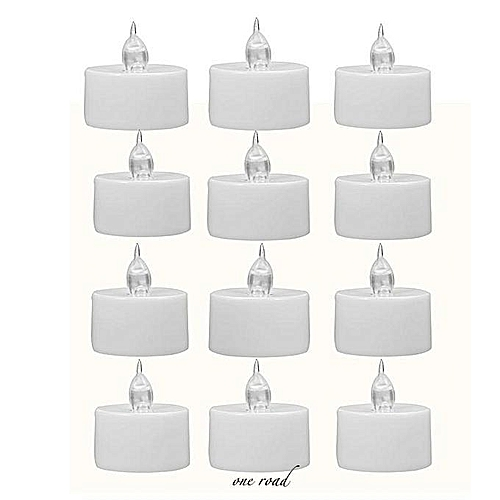 12PCS Mini LED Candle High Quality Small Flashing Candle For Wedding Birthday Halloween Christma