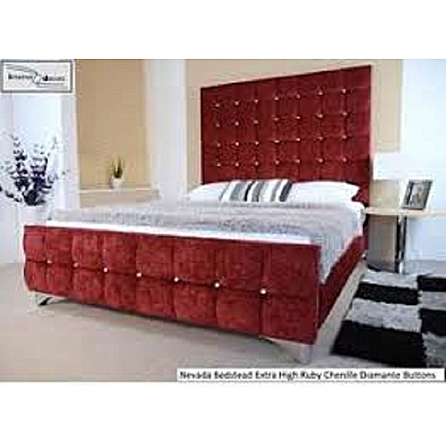 Drew Bed Frame In All Sizes (mattress, Dressing Mirror Set & Foot Rest Available On Request), DELIVERY IN LAGOS.