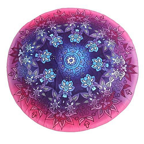 Bohemian Round Mandala Tapestry Beach Rug Blanket Hippie Throw Mat Table Cloth