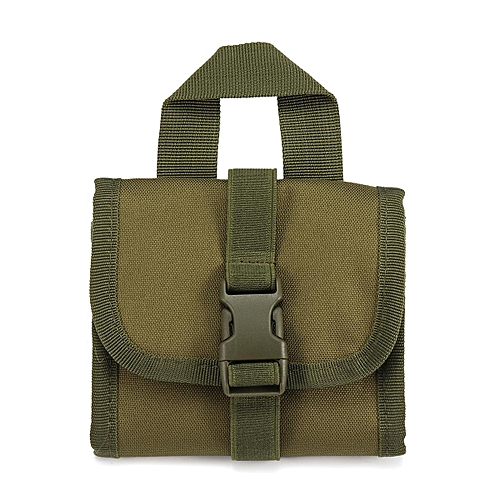 Tactical 14 Rifle Butt Ammo Pouch Army Cartridge Shell Holder Bag Hunting Case