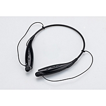Bluetooth Headphones Wireless Hand-free Bluetooth Headsets Neckband Earbud For Cell Phones- Black