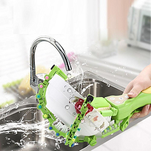 SWEETBABY Handheld Automatic Dish Brush Portable Electronic Bowl Plate Dishwasher Kitchen Cleaning Tool