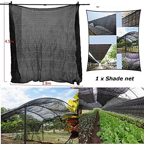 4.5mx1.8m 90% UV Fabric Outdoor Sunscreen Sunblock Shade Cloth Plant Cover Net