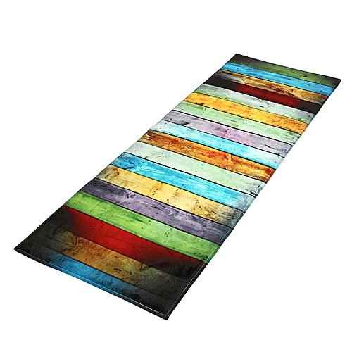 60*180cm Multicolor Area Rug Dining Room Carpet Shaggy Soft Bedroom Rectangle Floor Mat