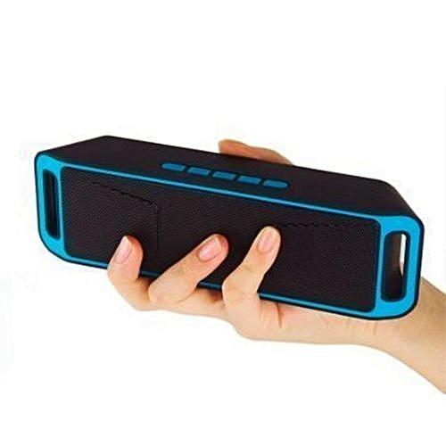 Bluetooth Speaker SC211 With MegaBass & Great Sound A2DP - Blue